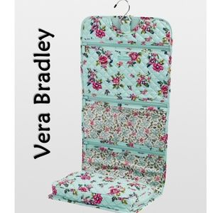 Blue Floral Water Bouquet Hanging Travel Organizer